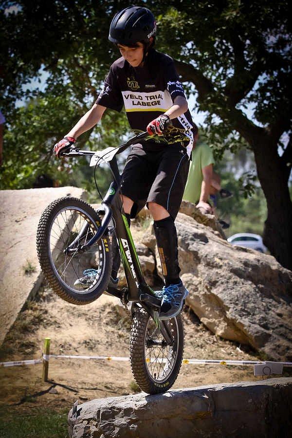 Vélo trial Labège